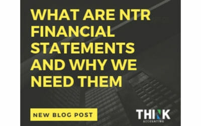 What Are Notice to Reader (NTR) Financial Statements and Why We Need Them